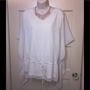 Adiva Cream Blouse